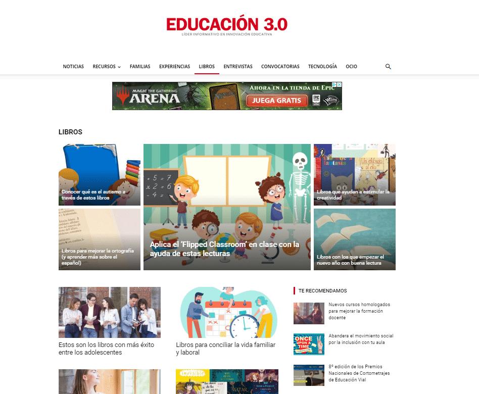 libros educación 3.0