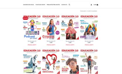 tienda online EDUCACIÓN 3.0