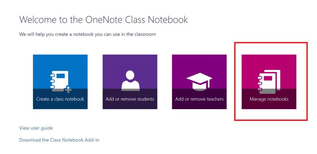 OneNote Materiales educativos
