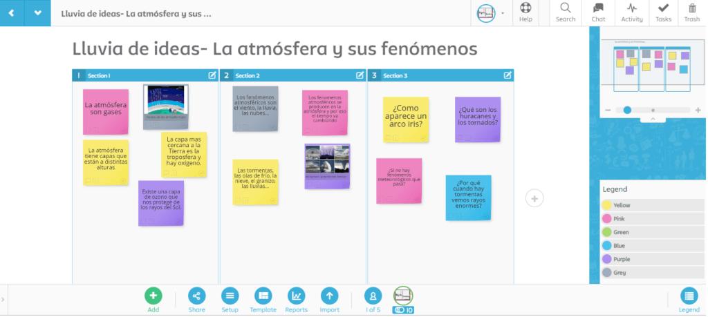 Stormboard herramientas aprendizaje cooperativo