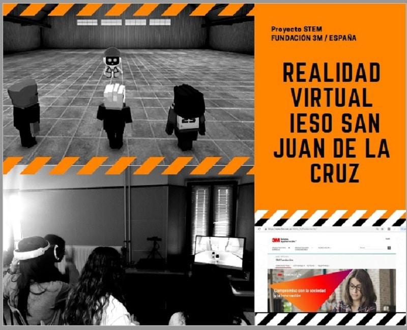 escape room en la biblioteca IESO San Juan de la Cruz