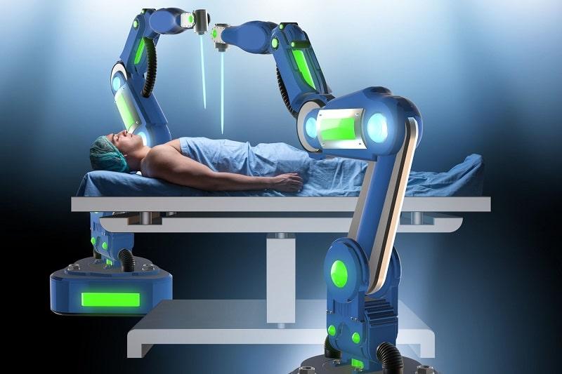 Robot quirúrgico - materias steam