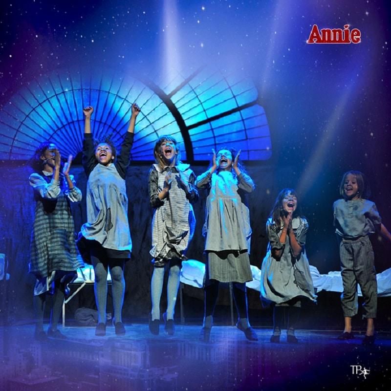 Annie el musical - obras de teatro infantil y juvenil