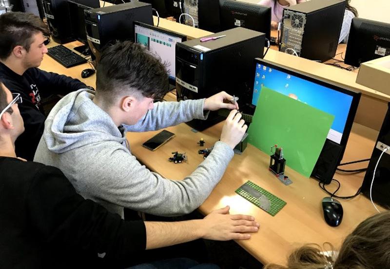 Stop Motion en Bachillerato Lego