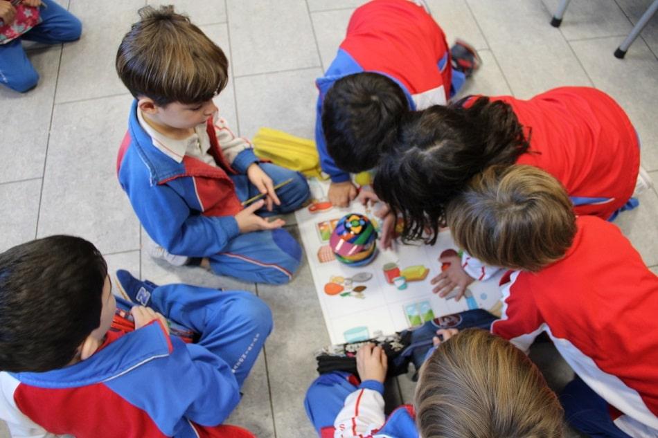 Alumnos del Colegio Sagrado Corazón La Mina (Corazonistas Zaragoza) aprenden robótica