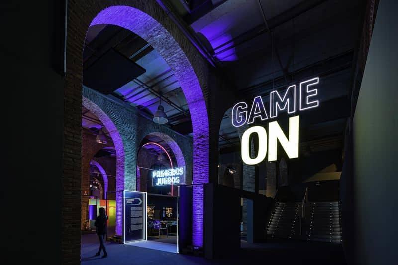 Game On exposición