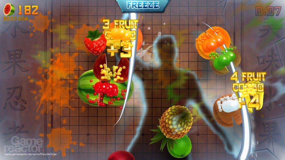 Fruta Ninja Kinect 2