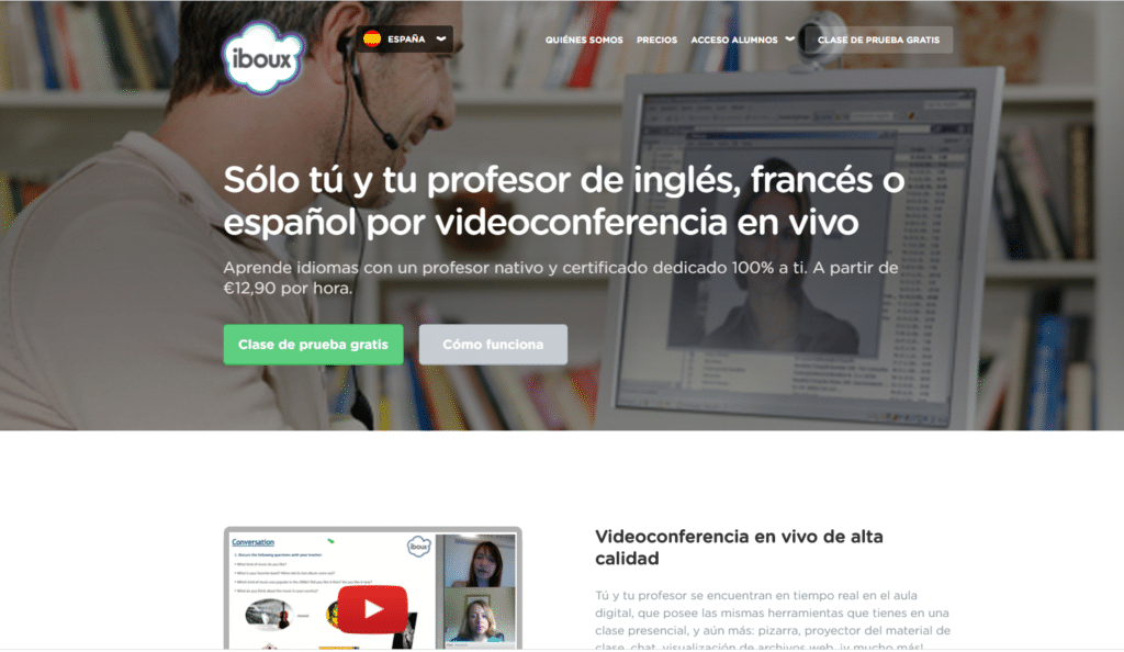 iboux clases particulares online
