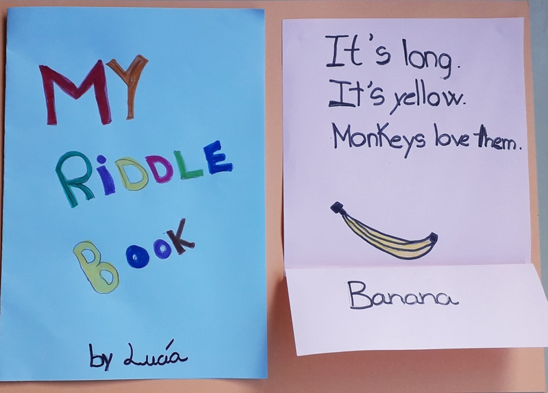 My riddle book adivinanzas inglés