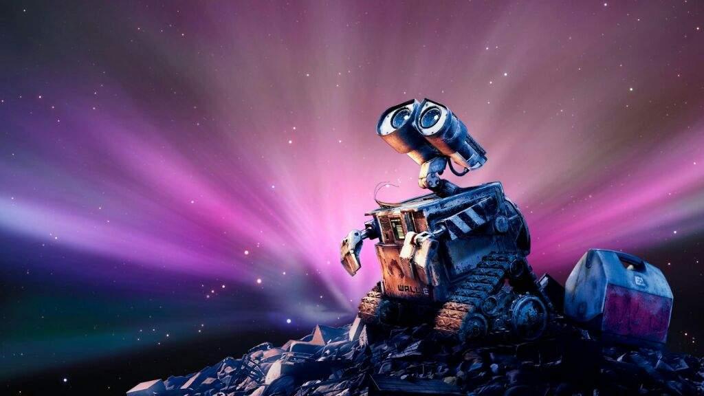 Wall-e robot basurero