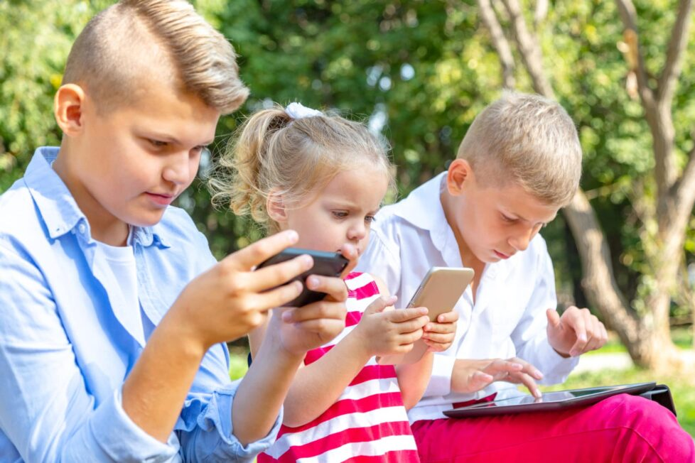 smartphone niños