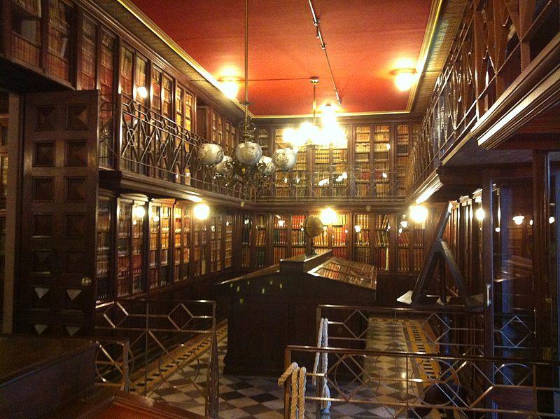 Biblioteca Pública Arús de Barcelona bibliotecas para visitar en familia
