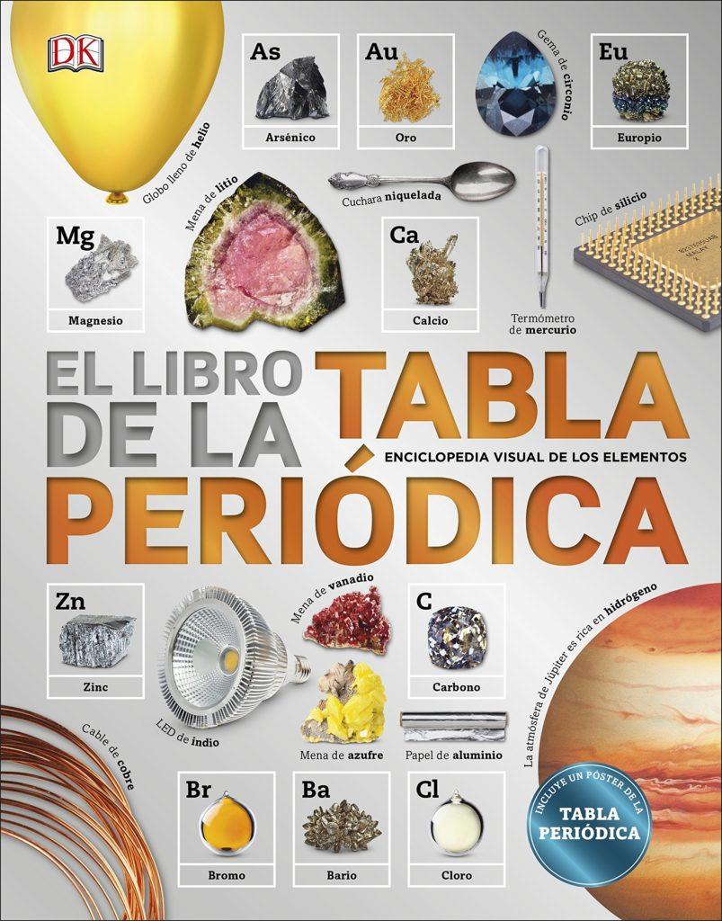 Libro de la tabla periódica. Enciclopedia.