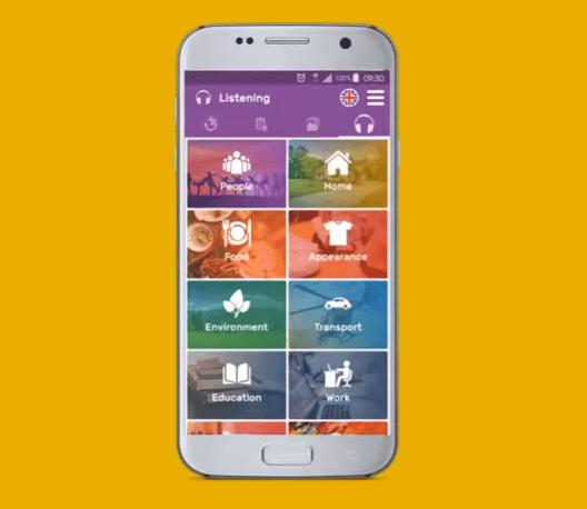 Aprender vocabulario en inglés app