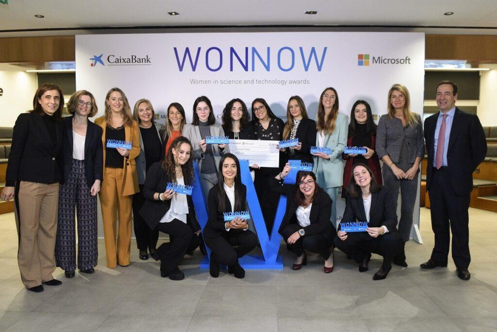 Ganadoras de la segunda edición de los Premios Wonnow.