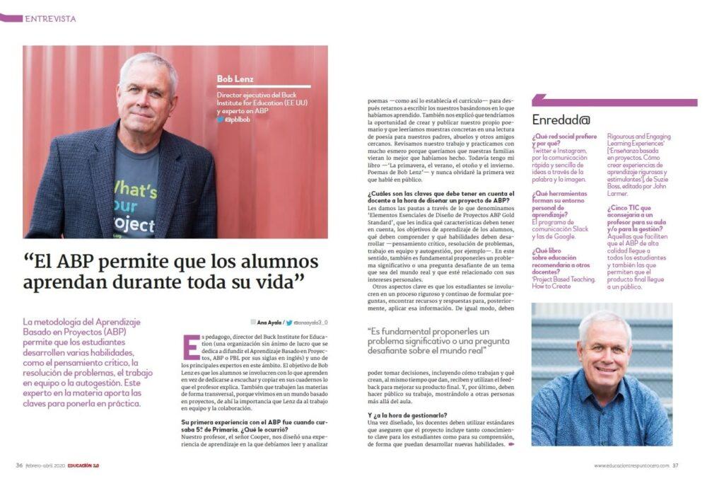 Entrevista a Bob Lenz