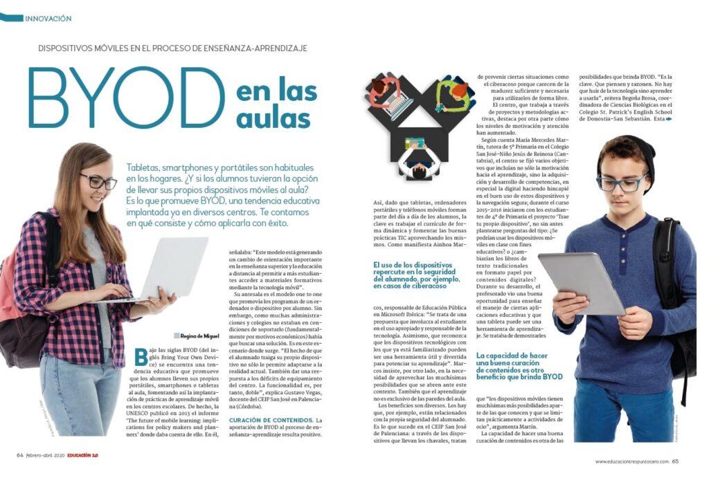 Innovación: BYOD en las aulas