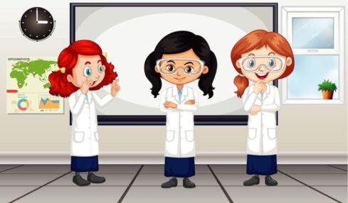 Libros ciencias niñas