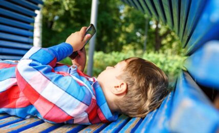 uso niños móviles
