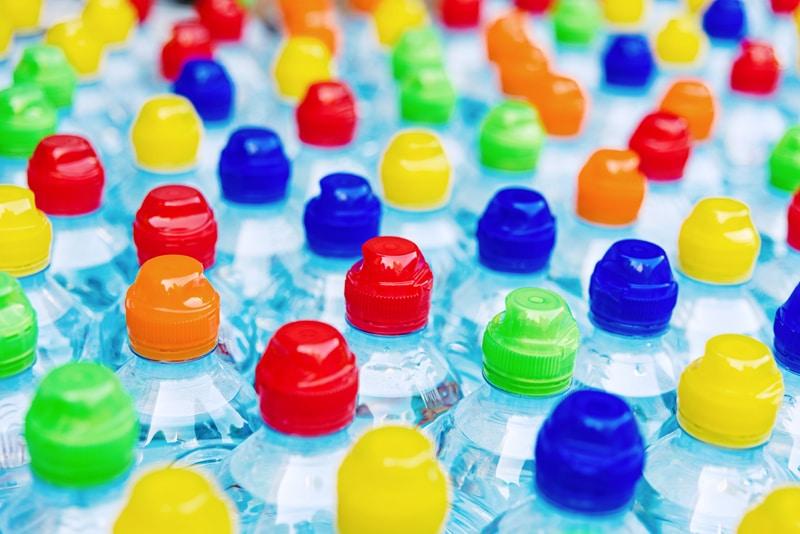 tapones plástico Manualidades para cuidar el medioambiente
