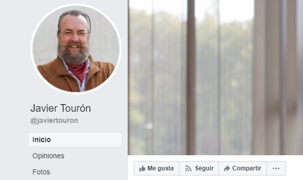 Javier Tourón páginas de facebook educativas