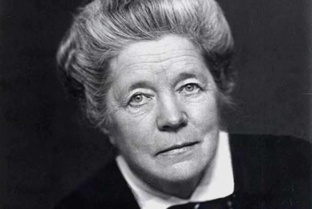 primera doctora sueca honoris causa de filosofía