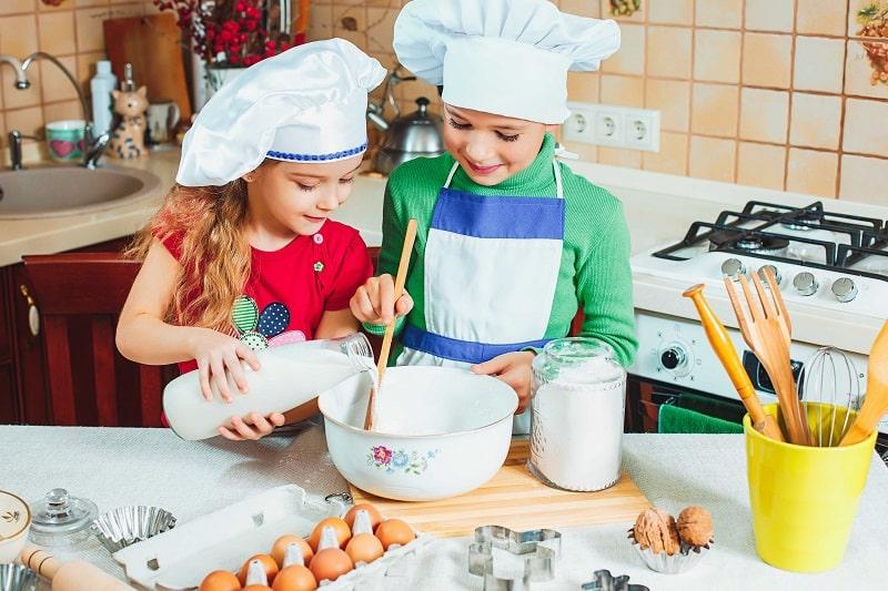 cocinar en familia