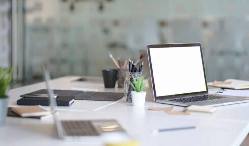 espacio de trabajo o estudio en casa