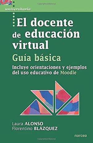El docente de educación virtual. Libros sobre formación online