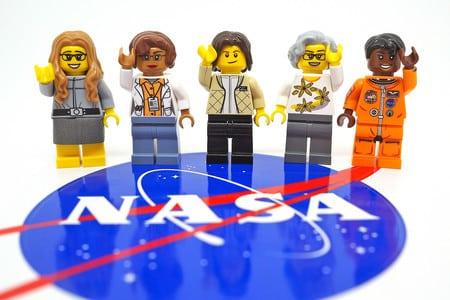 LEGO mujeres de la agencia espacial NASA
