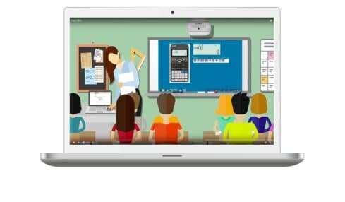 ilustración calculadora exámenes