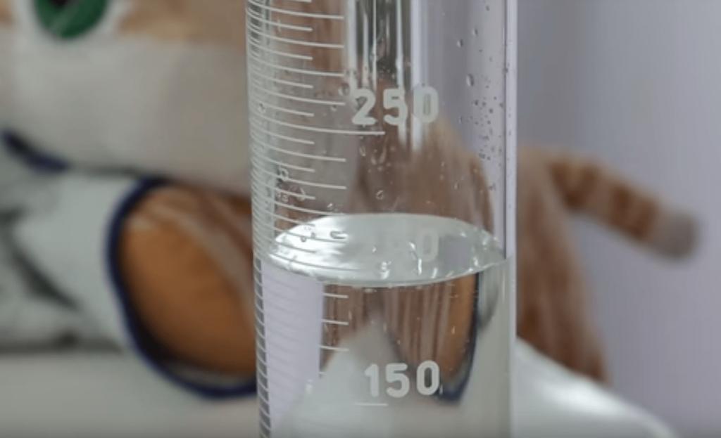 líquido que desaparece solo