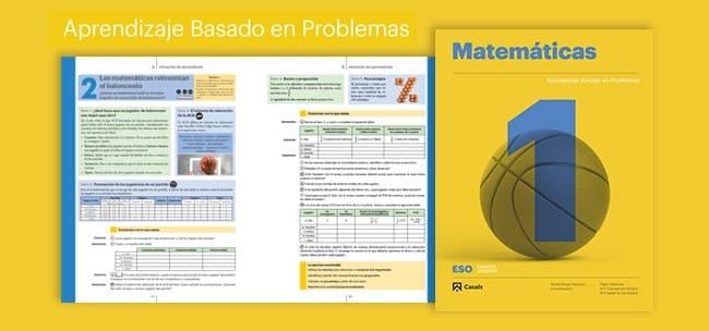 Editorial Casals: matemáticas online para Secundaria con ABP