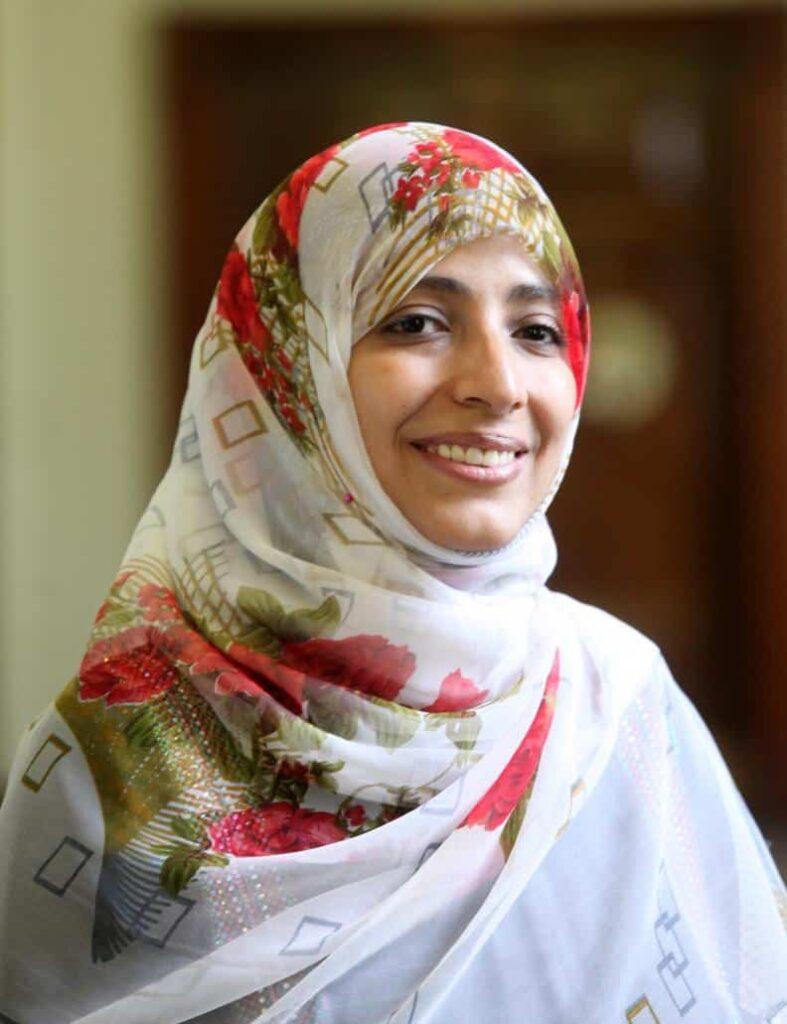 icono de la Primavera Árabe mujeres Premios Nobel