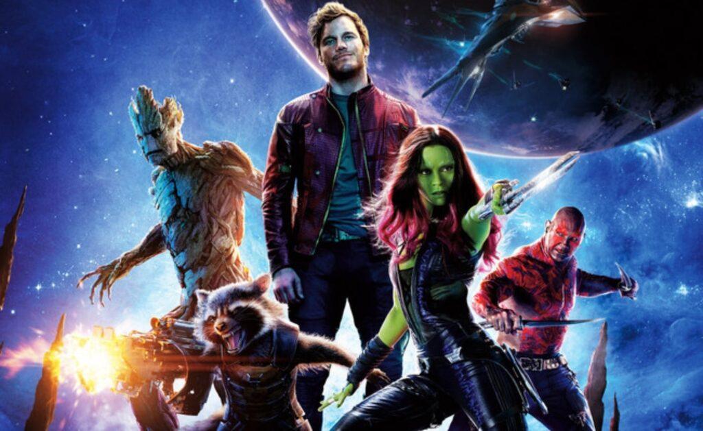 Drax, Groot, Gamora y Rocket