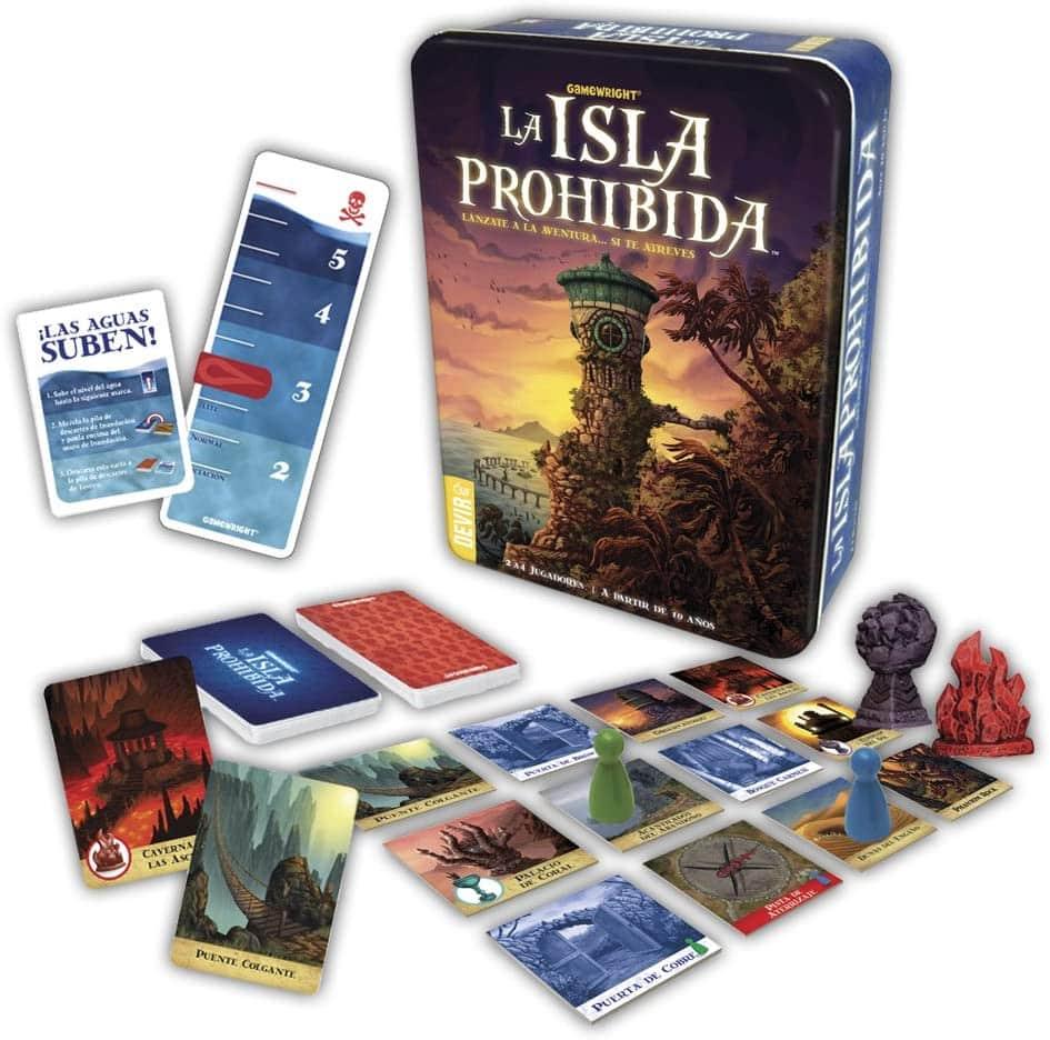 La isla prohibida juegos de cartas