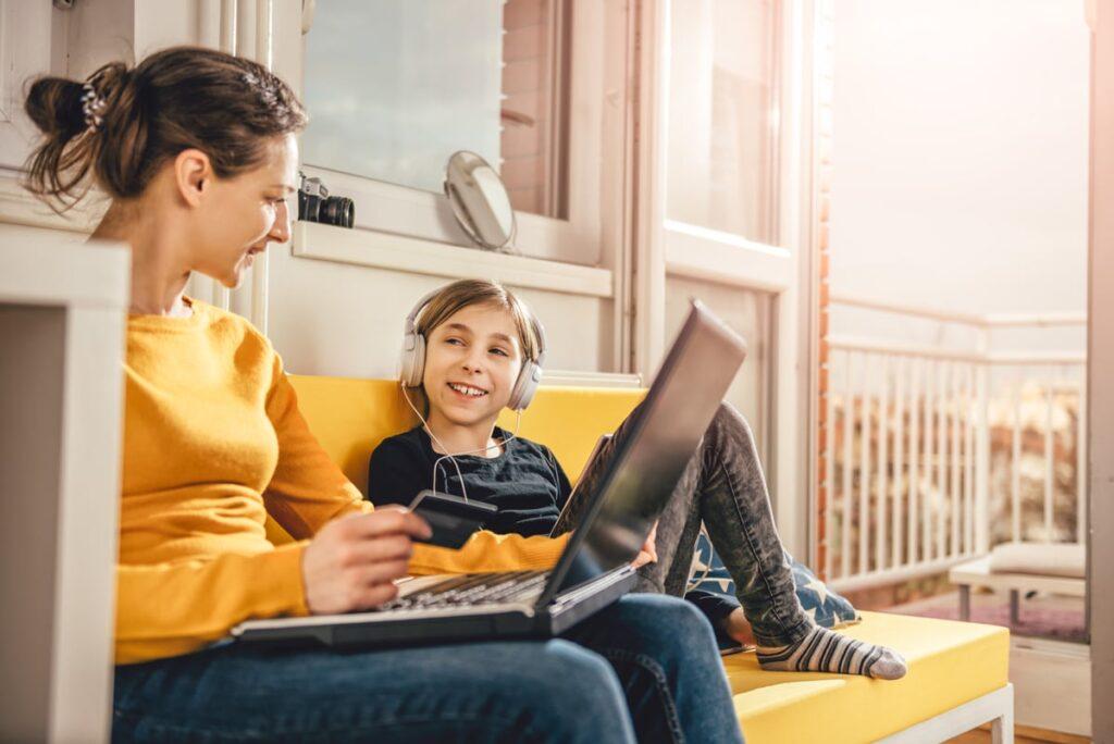 Teletrabajo y educación en casa