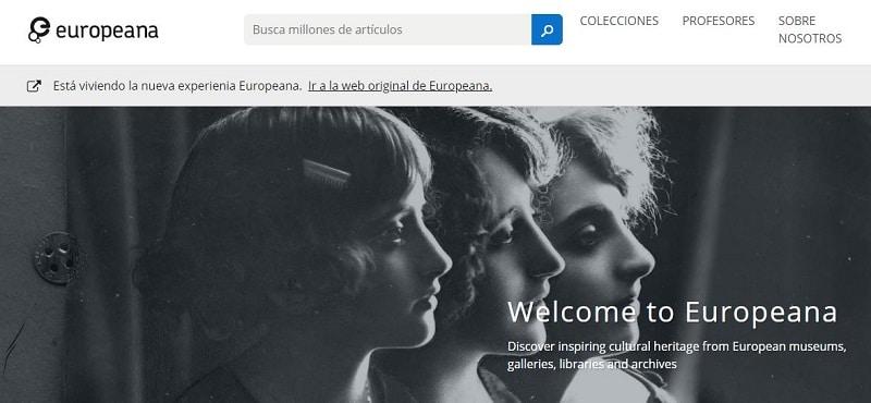 descargar libros gratis pagina web de europeana