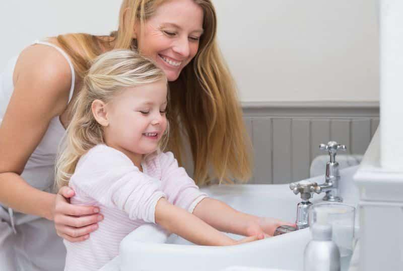 coronavirus lavarse las manos