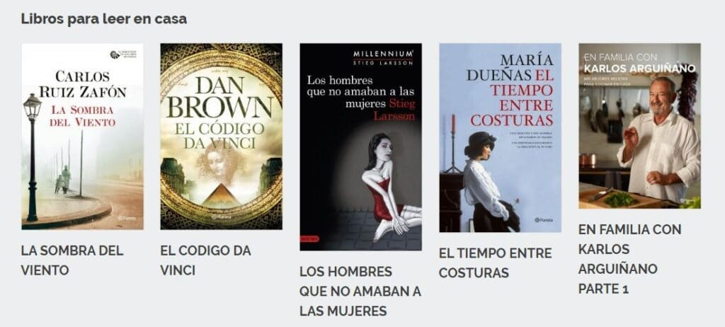 Planeta de Libros (Grupo Planeta) libros gratis