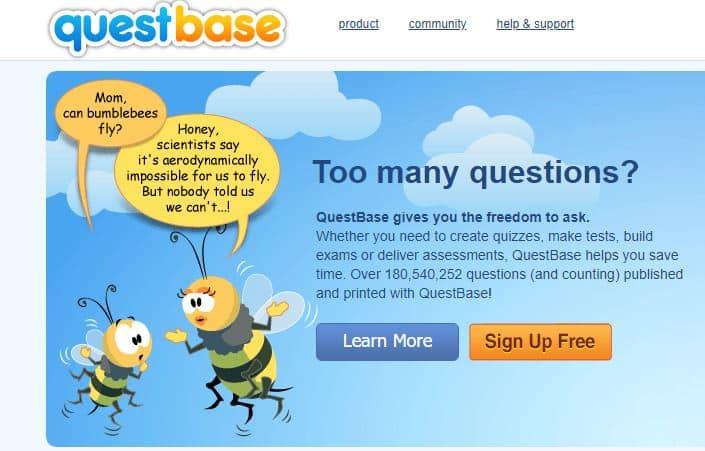 Questbase herramientas para crear y corregir exámenes