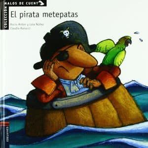 El pirata metepatas Libros para aprender a leer