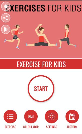 ejercicios para hacer en casa con niños