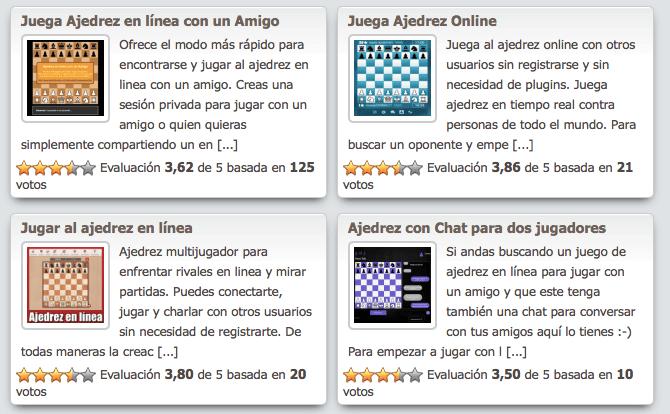 Blog ajedrez