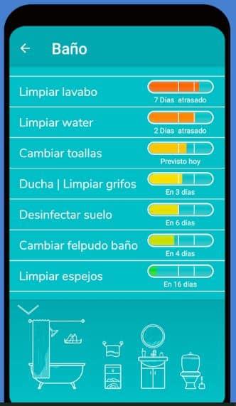 Tody apps gratuitas tareas domésticas