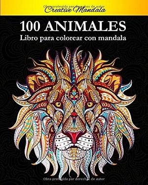 100 Animal mandalas para colorear