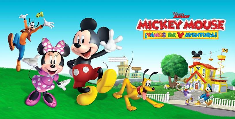 Mickey, vamos de aventura