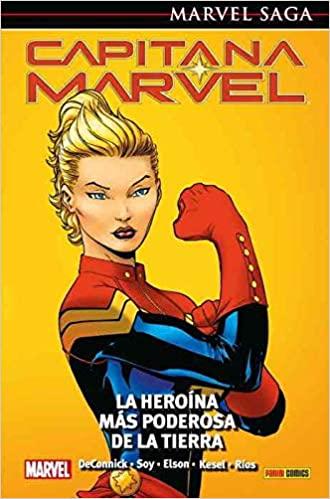 Capitana Marvel, La heroína más poderosa de la Tierra