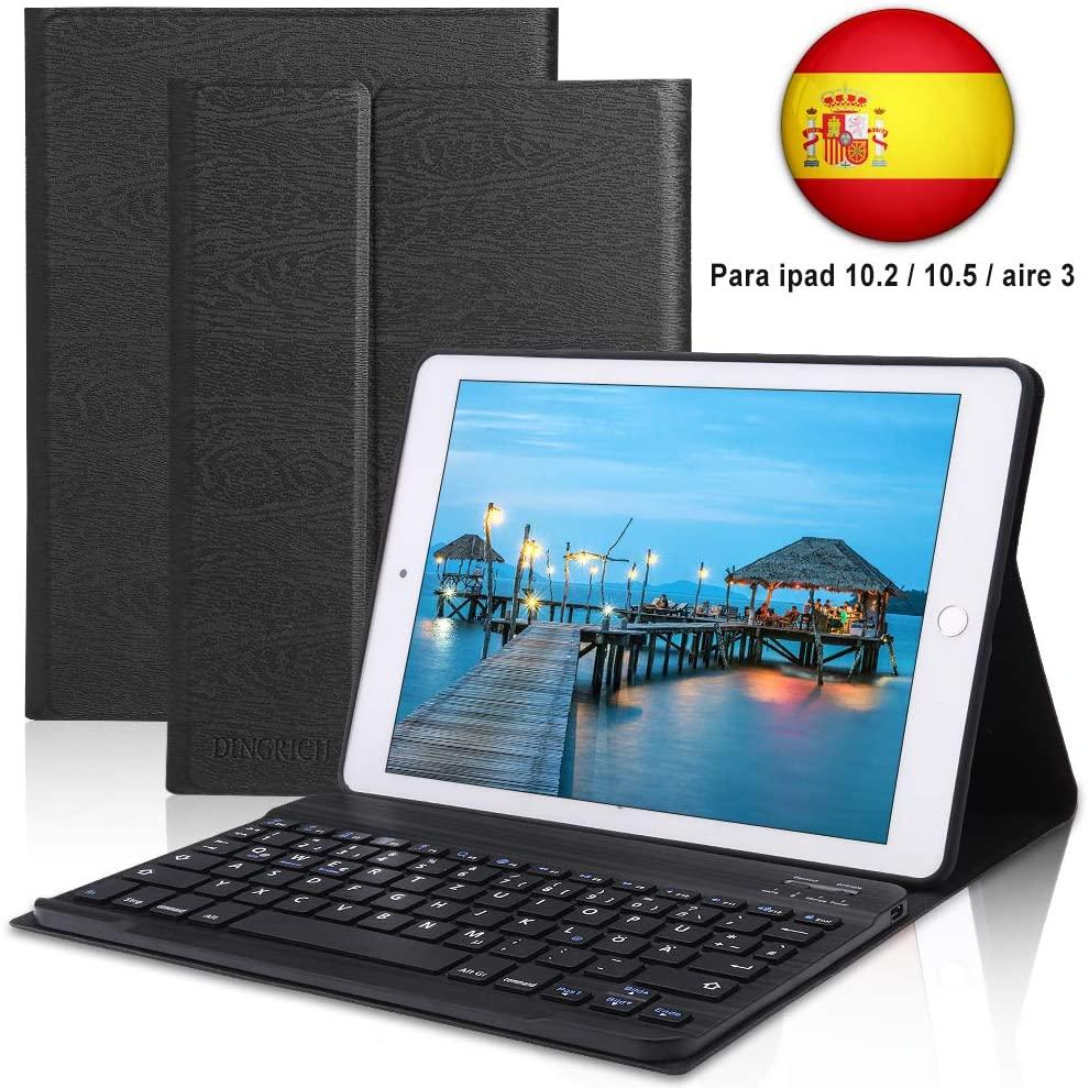 Dingrich fundas con teclado para iPad