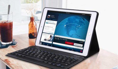 fundas con teclado para ipad